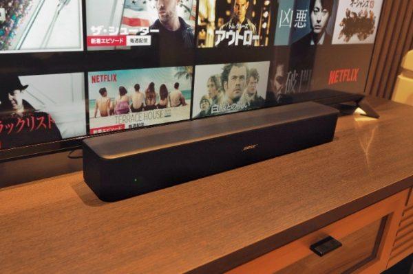 bose-スピーカー-TV