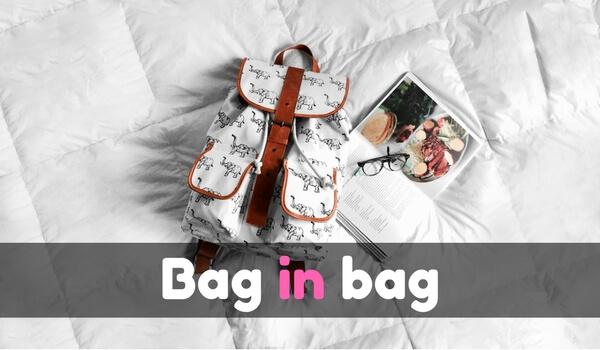 人気のバッグインバッグおすすめ20選!ビジネスからガジェット、かわいいアイテムまで一挙に紹介!