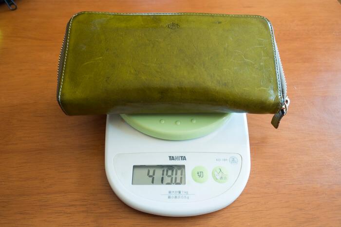 財布-重さ