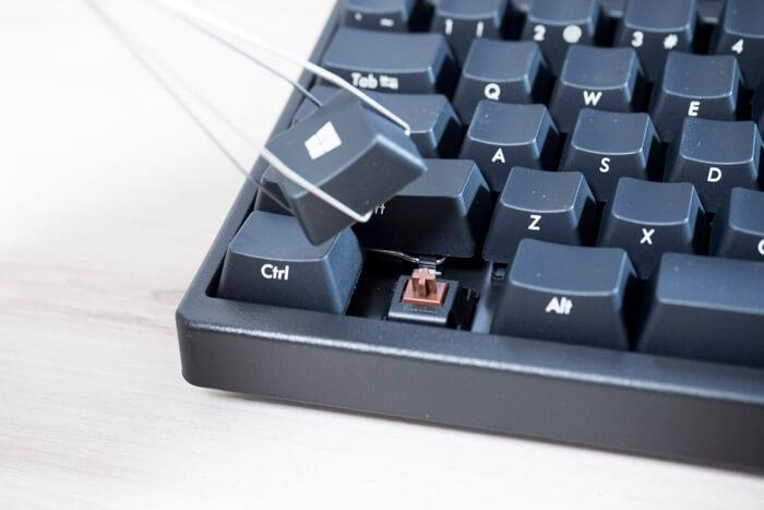 メカニカルキーボード-キー交換