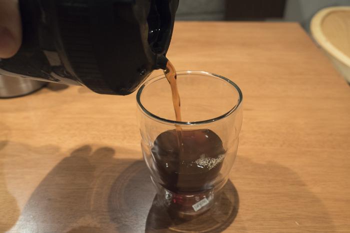 ホット-アイスコーヒー