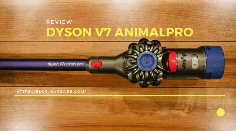 犬の毛のお掃除に『ダイソン V7 Animalpro』を購入しました【レビュー】