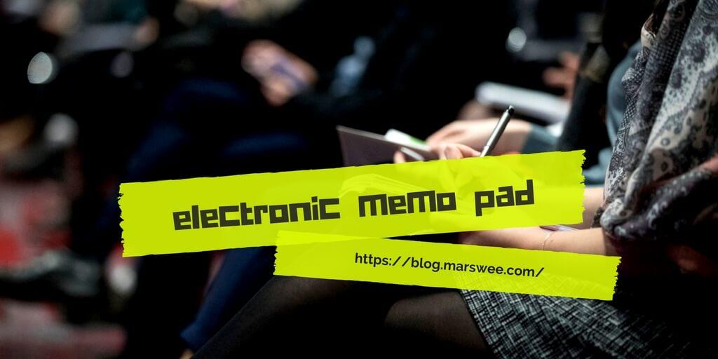 電子メモパッドのおすすめ機種10選!ペーパーレスでエコなメモを楽しもう!