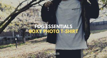 【PR】「FOG ESSENTIALS」BOXY PHOTO T-SHIRT シンプルなロゴがお気に入りのハイブランド